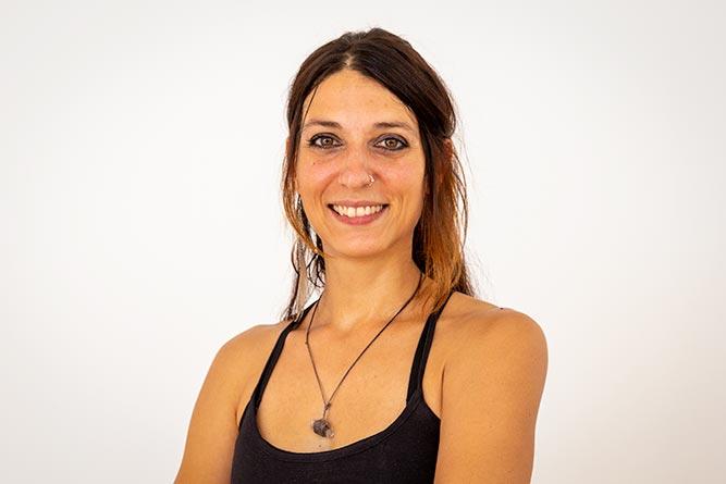 elisa insegnante yoga forli